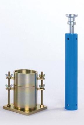 CỐI CHÀY PROCTOR TIÊU CHUẨN là dụng cụ dùng để đầm nén tạo mẫu CBR trong phòng thí nghiệm, nhằm xác định chỉ số CBR của đất, đất cấp phối, cấp phối đá dăm,.. Cối, chày proctor được sản xuất tại Việt nam bằng thép cứng mạ kẽm, độ bền cao.