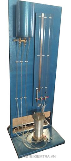 BỘ THÍ NGHIỆM THẤM ĐẤT-CÁT là dụng cụ dùng để xác định tính thấm của đất dạng hạt ( Cột nước không đổi )
