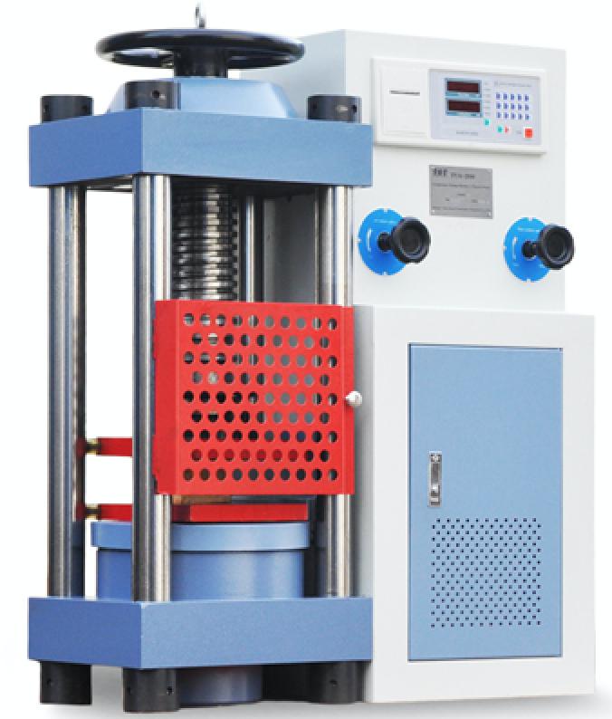 MÁY NÉN BÊ TÔNG 2000KN - TYA2000 - LUDA là thiết bị dùng để thí nghiệm nén bê tông, nén xi măng, nén gạch và nén các loại vật liệu xây dựng khác nhằm kiểm tra đánh giá chất lượng, độ chịu lực của các loại vật liệu sử dụng trong các công trình xây dựng. Máy nén bê tông 2000kn tương đương với lực nén 200 tấn, được nhập khẩu trực tiếp từ hãng chế tạo thiết bị thí nghiệm và kiểm định hàng đầu của Trung Quốc là Luda, Máy hoạt động bằng động cơ điện 1 pha 220v nên không gây ô nhiễm môi trường, bộ điều khiển điện tử, hiển thị kết quả lực phá hủy bằng đồng hồ kỹ thuật số, tự động lưu và in kết quả sau khi nén, rất dễ vận hành, an toàn tuyệt đối bằng lưới thép bảo vệ.
