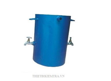 THIẾT BỊ XÁC ĐỊNH HÀM LƯỢNG SÉT CỦA ĐÁ (BÌNH RỬA ĐÁ) là dụng cụ dùng để xác định hàm lượng bùn, bụi, sét trong cốt liệu và hàm lượng sét cục trong cốt liệu lớn, bằng phương pháp gạn rửa và hàm lượng sét cục trong cốt liệu lớn.
