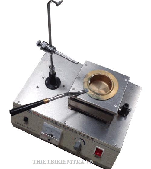 BỘ THÍ NGHIỆM  BỐC CHÁY NHỰA TỰ ĐỘNG - SYD-3536 là thiết bị dùng để xác định nhiệt độ bắt lửa và nhiệt độ bốc cháy của nhựa đường đặc. Nhiệt độ bắt lửa là điểm nhiệt độ thấp nhất tại áp xuất khí quyển 760 mm Hg, mà ở đó ngon lửa thí nghiệm làm cho mẫu bốc hơi và cháy dưới điều kiện quy định của thí nghiệm.