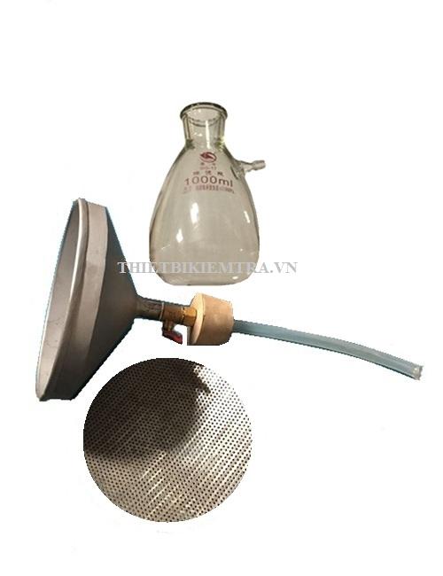 PHỄU XÁC ĐỊNH ĐỘ LƯU ĐỘNG CỦA VỮA XI MĂNG - VN là dụng cụ dùng để xác định độ lưu động của vữa tươi (dòng chảy của vữa xi măng).