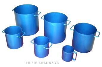 THÙNG DUNG TRỌNG (HỘC ĐONG) là dụng cụ dùng để xác định khối lượng hạt cốt liệu trong thí nghiệm xây dựng.