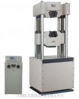MÁY KÉO THÉP ĐIỆN TỬ MODEL WES-1000B-JINGYUAN là thiết bị được dùng để thí nghiệm kéo, nén, uốn thép và một số vật liệu phi kim loại như mẫu bê tông, mẫu xi măng, mẫu gạch xây,... bằng những bộ gá chuyên dụng. Nhằm đánh giá chất lượng vật liệu xây dựng trước khi đưa vào sử dụng. Máy kéo thép điện tử Model WES-100B của hãng Jingyuan - Trung Quốc sản xuất có lực kéo-nén-uốn tối đa là 1000kn tương đương 100 tấn.