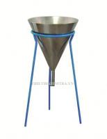 PHỄU XÁC ĐỊNH ĐỘ SỆT CỦA VỮA XI MĂNG (DÒNG CHẢY CỦA VỮA)  là thiết bị dùng để xác định thời gian chảy của thể tích vữa xi măng chịu nước dạng lỏng cụ thể qua phễu hình nón tiêu chuẩn và sử dụng bê tông cốt liệu trộn sẵn ( tiêu chuẩn ASTM 939:2010 ). Tuy nhiên, phương pháp thử nghiệm này cũng có thể sử dụng cho các loại vữa dạng lỏng khác.