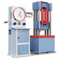 MÁY KÉO THÉP 100 TẤN - WE1000B - LUDA là thiết bị dùng để thí nghiệm kéo thép, uốn thép, nén thép và một số kim loại khác với lực kéo lên tới 100 tấn tương đương 1000KN. Nó cũng có thể sử dụng để thí nghiệm các vật liệu phi kim như dùng để nén mẫu bê tông, nén mẫu xi măng, nén gạch cùng một số công việc khác bằng những bộ gá chuyên dụng,.... Có thể nói Máy kéo thép 100 tấn Model WE1000B của hãng LUDA Trung Quốc sản xuất là một chiếc máy vạn năng, nó có thể sử dụng vào nhiều công việc đa dạng.