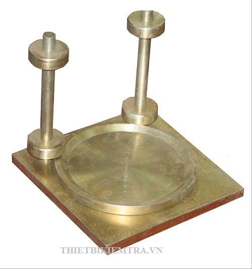 ĐẾ CAPPING D150MM BẰNG THÉP dược dùng để thí nghiệm nén mẫu bê tông trụ kích thước D150 x H300 (mm), ngoài ra Đế capping D150mm bằng thép cũng được sử dụng để nén các mẫu khoan như D100, D76, D55,..