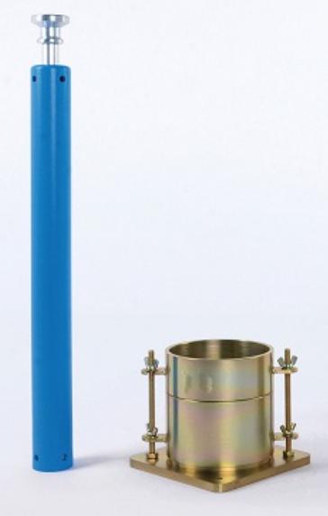 CỐI CHÀY PROCTOR CẢI TIẾN - VN là dụng cụ dùng để đầm nén tạo mẫu CBR trong phòng thí nghiệm, nhằm xác định chỉ số CBR của đất, đất cấp phối, cấp phối đá dăm,... Bộ cối chày proctor cải tiến được sản xuất tại Việt Nam bằng thép cứng mạ kẽm, có độ chính xác cao, chất lượng đảm bảo.