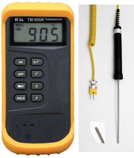 MÁY ĐO NHIỆT ĐỘ BÊ TÔNG - NHIỆT KẾ ĐIỆN TỬ là thiết bị dùng để đo nhiệt độ trong lõi của vữa bê tông. Ngoài ra nó cũng có thể được ứng dụng trong nhiều mục đích khác, như đo nhiệt độ môi trường, đo nhiệt độ trong phòng thí nghiệm....
