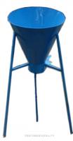 PHỄU XÁC ĐỊNH ĐỘ XỐP CỦA CÁT (PHỄU CÁT) là dụng cụ dùng để xác định khối lượng, thể tích của cốt liệu cát trong thí nghiệm xây dựng.