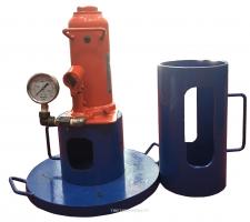 BỘ ĐO E BẰNG TẤM ÉP TĨNH hay Bộ đo e bằng tấm ép cứng là thiết bị dùng để thí nghiệm xác định mô dun đàn hồi của nền đất và các lớp kêt cấu áo đường mềm bằng phương pháp sử dụng tấm ép cứng.