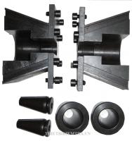 BỘ GÁ KÉO CÁP DỰ ỨNG LỰC được sử dụng cho máy kéo thép dùng để thí nghiệm, kiểm tra các chỉ tiêu cơ lý của cáp dự ứng lực. Bộ kéo cáp dự ứng lực được nhập khẩu từ Trung Quốc có độ bền cao, có thể sử dụng cho nhiều loại máy kéo thép khác nhau.