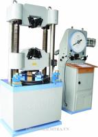 MÁY KÉO THÉP THÍ NGHIỆM - 100 TẤN - JINGYUAN là thiết bị dùng để thí nghiệm kéo thép, uốn thép, nén thép và một số kim loại khác. Nó cũng có thể sử dụng để thí nghiệm các vật liệu phi kim như dùng để nén mẫu bê tông, nén mẫu xi măng, nén gạch cùng một số công việc khác bằng những bộ gá chuyên dụng,.... Có thể nói Máy kéo thép 100 tấn Model WE-1000B của hãng Jingyuan Trung Quốc sản xuất là một chiếc máy vạn năng, nó có thể sử dụng vào nhiều công việc đa dạng.