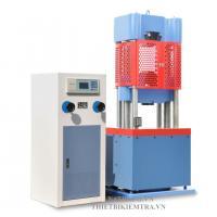 MÁY KÉO THÉP THÍ NGHIỆM - WA-1000B - LUDA là thiết bị được dùng để thí nghiệm kéo, nén, uốn thép và một số vật liệu phi kim loại như mẫu bê tông, mẫu xi măng, mẫu gạch xây,... bằng những bộ gá chuyên dụng. Đây được coi là chiếc máy thép vạn năng trong ngành nghiên cứu, thí nghiệm, kiểm định chất lượng vật liệu xây dựng. Máy kéo thép thí nghiệm Model WA100B của hàng LUDA Trung Quốc sản xuất có lực kéo, nén, uốn tối đa là 1000kn tương đương 100 tấn.