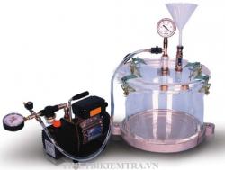 BÌNH TỶ TRỌNG KẾ 10 là thiết bị dùng để xác định trọng lượng riêng tối đa hỗn hợp bitum chưa nén chặt.