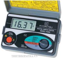 MÁY ĐO ĐIỆN TRỞ ĐẤT KYORITSU-4105A là thiết bị đo điện trở đất ở trạm cung cấp điện, trong hệ thống truyền tải điện, các thiết bị điện,.. Ngoài ra nó còn đo được điện áp đất khi a làm phép đo điện áp đất.